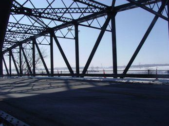 Girders for Steel Lift Bridge, Buffalo NY
