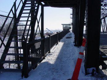 Structural Steel Constructed for Lift Bridge, Buffalo NY