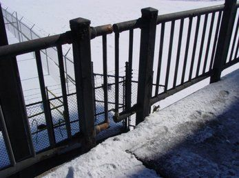 Steel Bridge Railings, Buffalo NY