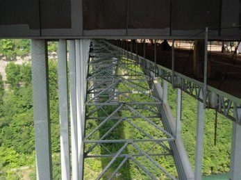 Underside of Steel Bridge, Buffalo NY