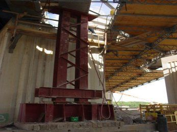 Structural Steel Supports for Bridge, Buffalo NY