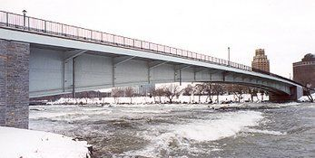 Structural Steel Bridge Railing, Buffalo NY