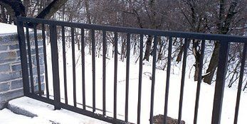 Custom Steel Railings, Buffalo NY