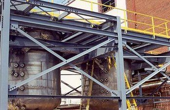 Buffalo NY Industrial Steel Structure