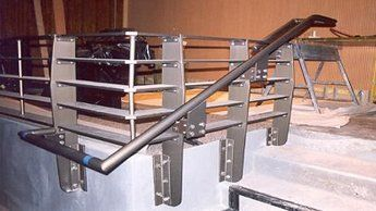 Steel Railing Construction in Buffalo NY