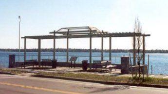 Park Canopy Structural Steel Detailing in Tonawanda NY