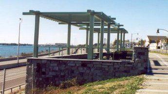 Park Canopy Steel Construction Design in Tonawanda NY