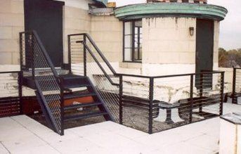 Steel Stairs and Railing Detailing in Buffalo NY
