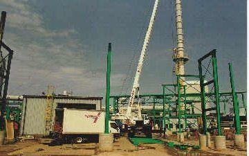 Industrial Steel Pipe Bridge Detailing in Tonawanda NY