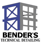 Bender's Technical Steel Detailing Logo, Buffalo NY