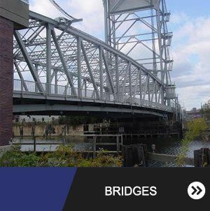 Steel Bridge Railing Structure in Buffalo NY