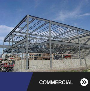 In-Progress Commercial Steel Structure, Buffalo NY
