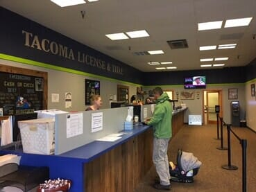 Vehicle Registration Services - Tacoma, WA
