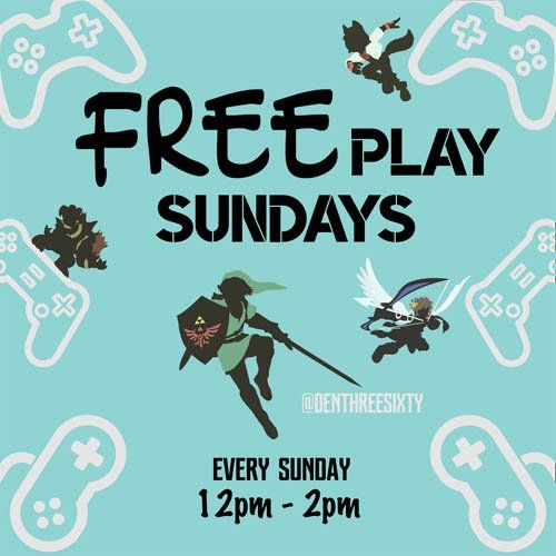 Free Video Game Playing Sundays