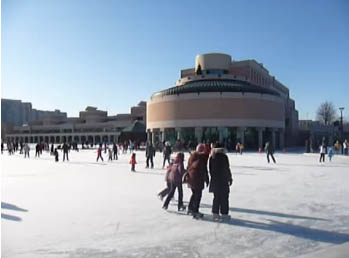 Markham Civic Centre Skating Rink