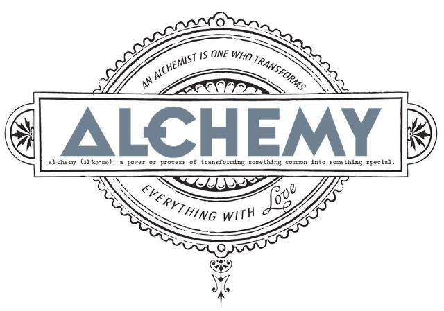 alchemy hair studio graphic design
