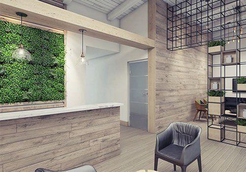 Interior Plant Decor U2014 An Office With Plants Interior Design In San Diego,  CA