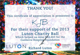 luton charity ball flyer
