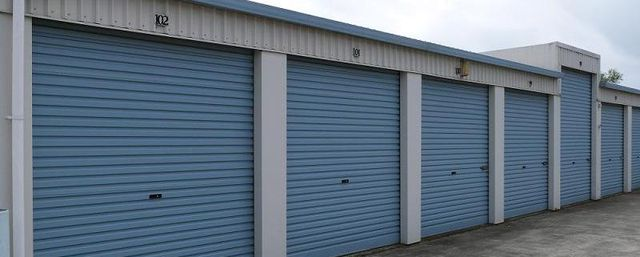 Self storage sheds in Richmond