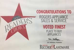 Appliance Sales And Service Troutman Nc Rogers