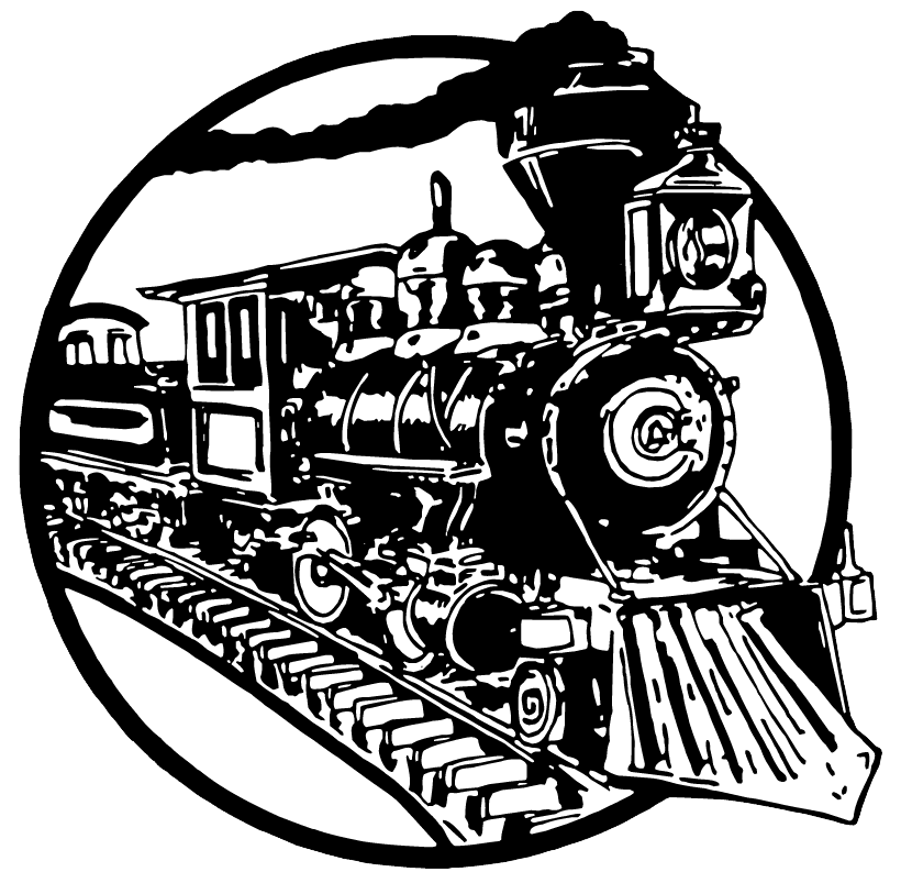 hamburger factory train logo