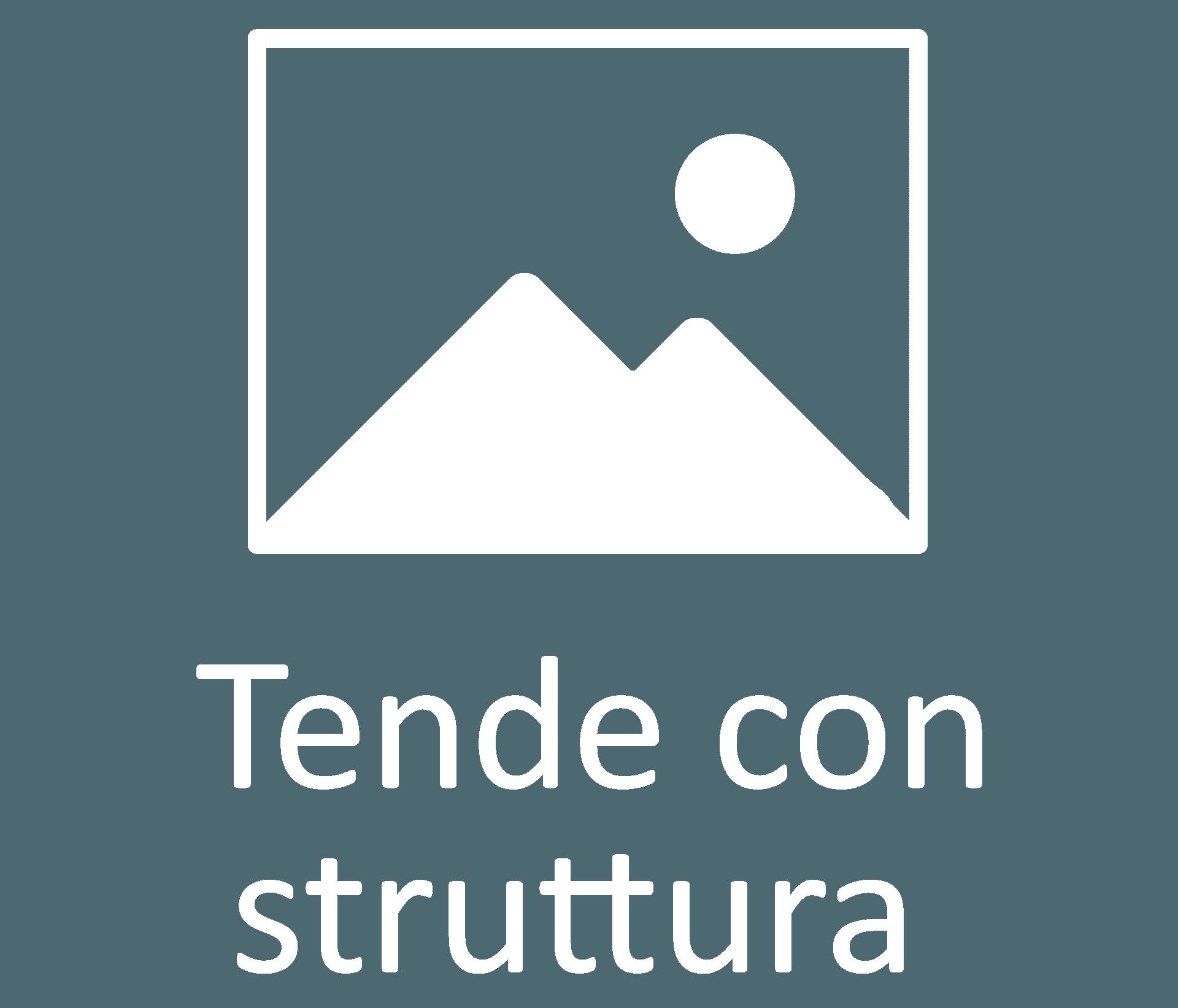tende con struttura