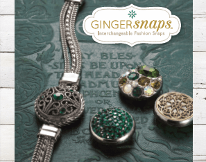 Ginger Snaps TM  From The Good Bead Company