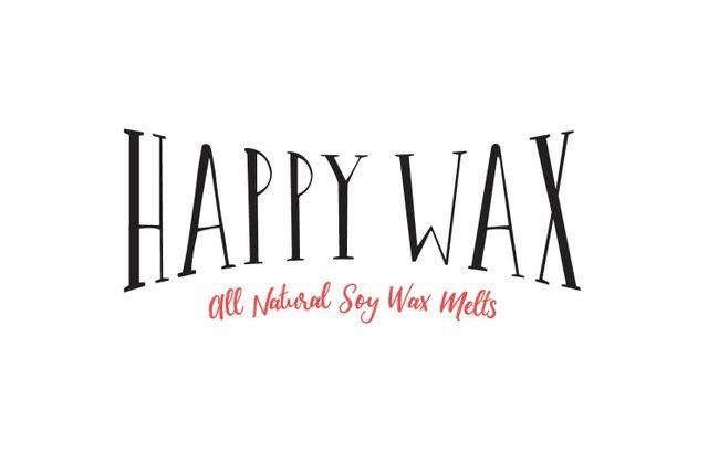 Happy Wax -All Natural Soy Wax Melts  Logo