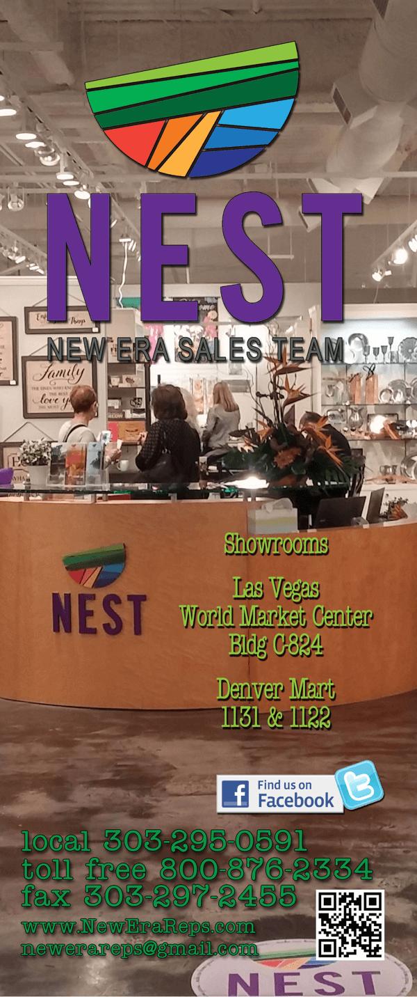 NEST Las Vegas Denver West Coast Gift Showrooms