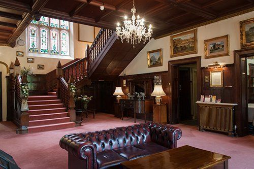 Interior of Highley Manor Hotel in Sussex