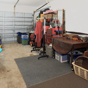 garage before clearance