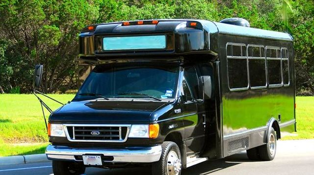 Austin Party Bus Rental up to 18 Passengers