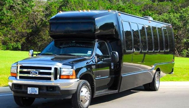 Austin Party Bus Rental up to 22 Passengers