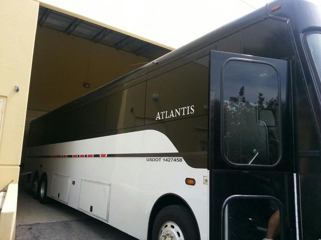 Austin Party Bus Rental up to 45 Passengers