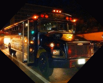 Austin Party Bus Rental up to 50 Passengers