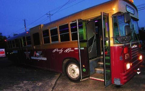 Austin Party Bus Rental 50+ Passengers