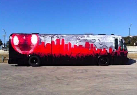 Austin Party Bus Rental up to 35 Passengers