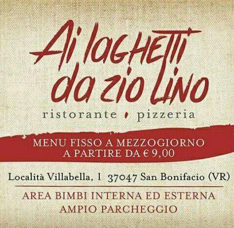 Ristorante Pizzeria Ai Laghetti da Zio Lino - Logo