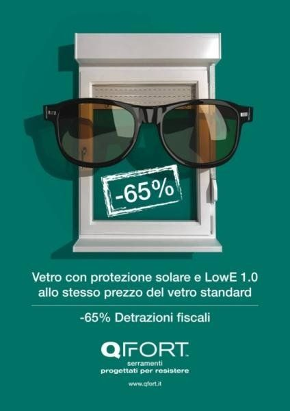 Promozione vetro protezione solare