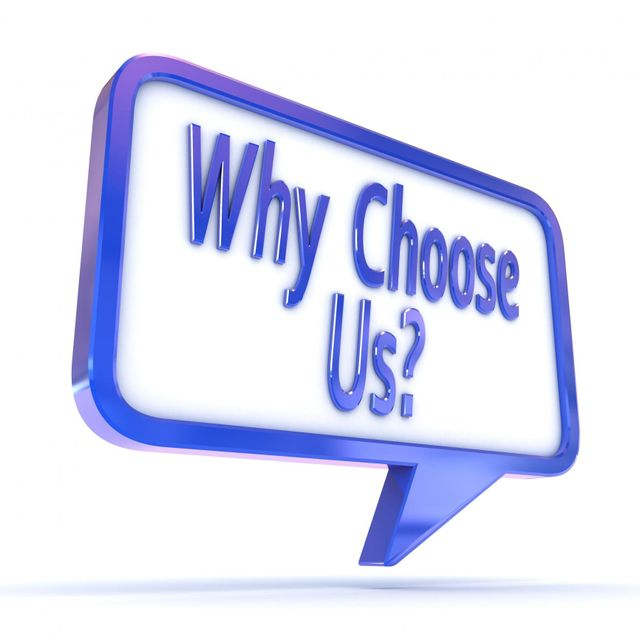 Why Choose Us? text