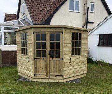 Hard-wearing sheds