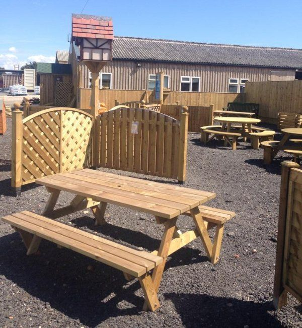 Amazing Attractive And Durable Garden Furniture Available From Flixton Sawmill