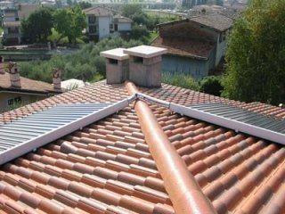 Impianto solare villa ad Affi