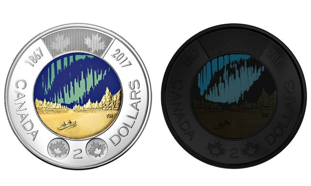 World's first glow-in-the-dark coin: Canada