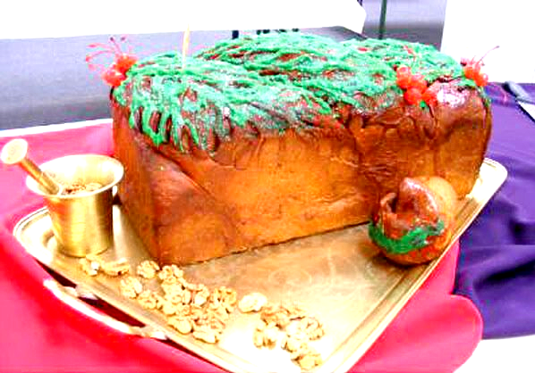 Largest Christmas Cake Commercially Available World Record Set By Romanian Cake Shop