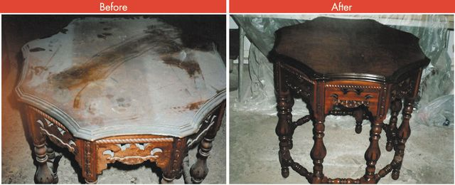Our Services Include The Following Antique Furniture Restoration