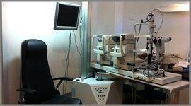 strumentazione per esami della vista