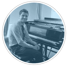 Daniel Nicholson - piano tutor from Cadenza Music Tuition in Cardiff and Southwest London