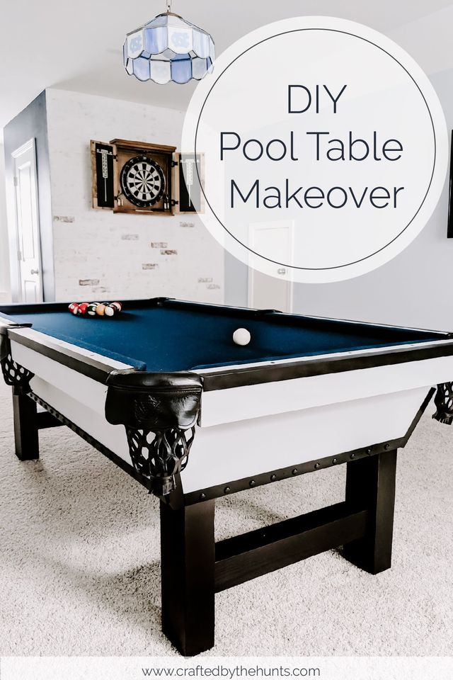 Diy Pool Table Makeover