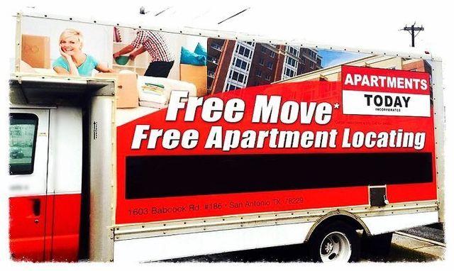 Apartments Today Inc. - Free move offer - San Antonio TX